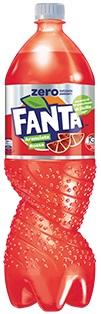 Fanta Arancia Rossa Zero lt 1