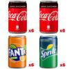 Coca Cola Minican Mista cl 15 lattina 12 Coca Zero
