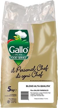 Riso Gallo Parboleid (blond) kg 5
