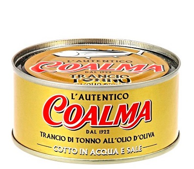 Tonno Coalma Olio D'oliva g 160