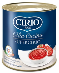 Concentrato Super Cirio g 850 latta