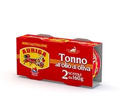 Tonno Auriga Olio D'oliva g 160 bis