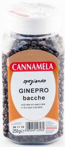 Aromi Cannamela Ginepro Bacche gr 250 Pet