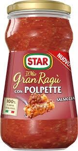 Ragu' Star polpette salsiccia g 360