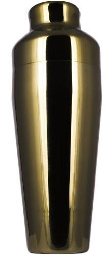 Shaker Parisienne Hide ml 550 Oro Rame in Acciaio Bar Universe