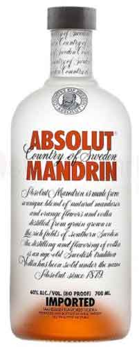 Vodka Absolut Mandarin lt 1
