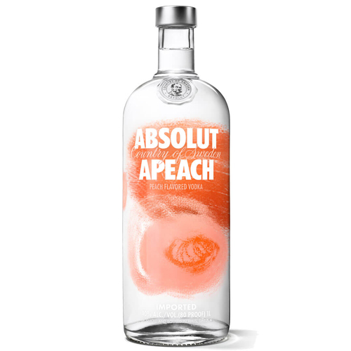 Vodka Absolut Apeach lt 1