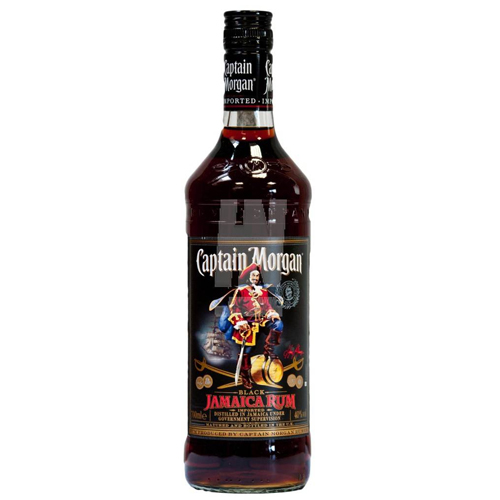 Rum Captain Morgan Jamaica Black lt 1