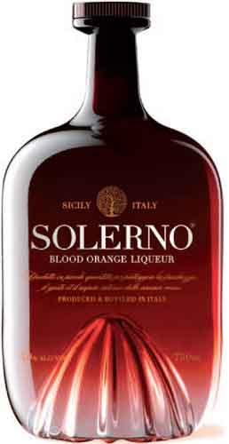 Liquore Solerno Blood Orange cl 70 Distillato di Agrumi di Sicilia