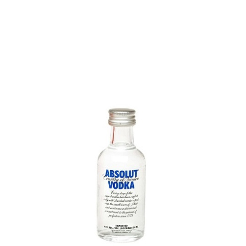 Vodka Absolut cl 5 mignon
