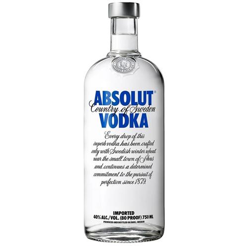 Vodka Absolut lt 4