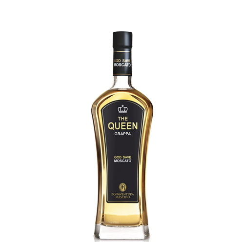 Grappa Moscato The Queen cl 70 Bonaventura Maschio