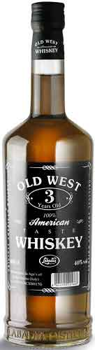 Whiskey Old West American 3 anni cl 70