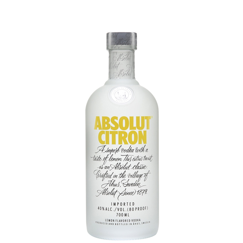 Vodka Absolut Citron cl 70