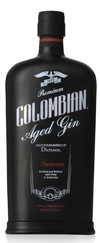 Gin Dictador treasure colombian cl 70