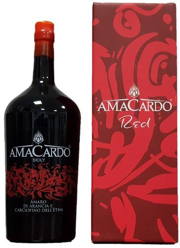 Amaro Amacardo Red arancia e carciofino lt 1