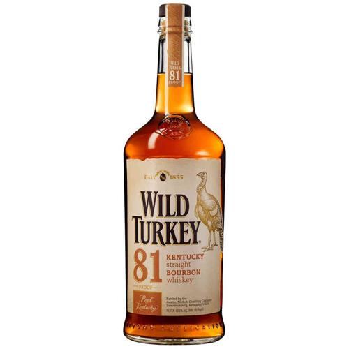 Whiskey Wild Turkey 81 proof lt 1 Straight Bourbon