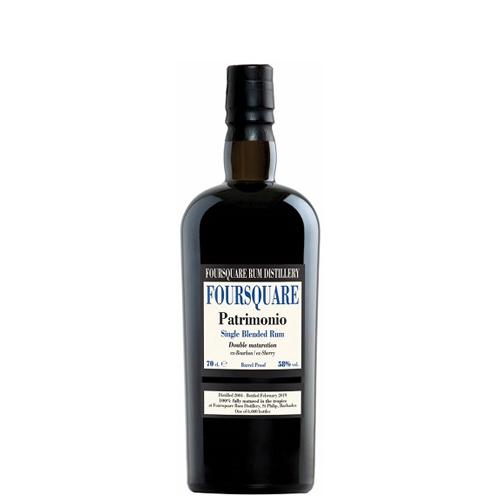 Rum Foursquare Patrimonio cl 70 double maturation Astucciato