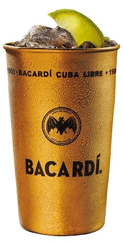 Bicchiere Bacardi Metal Mug per cocktail 360 ml