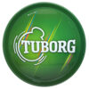 Vassoio Tuborg Verde Metallo
