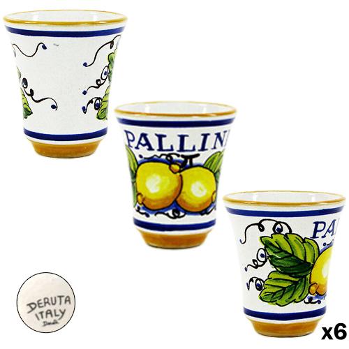 Bicchiere Limoncello Pallini in Ceramica