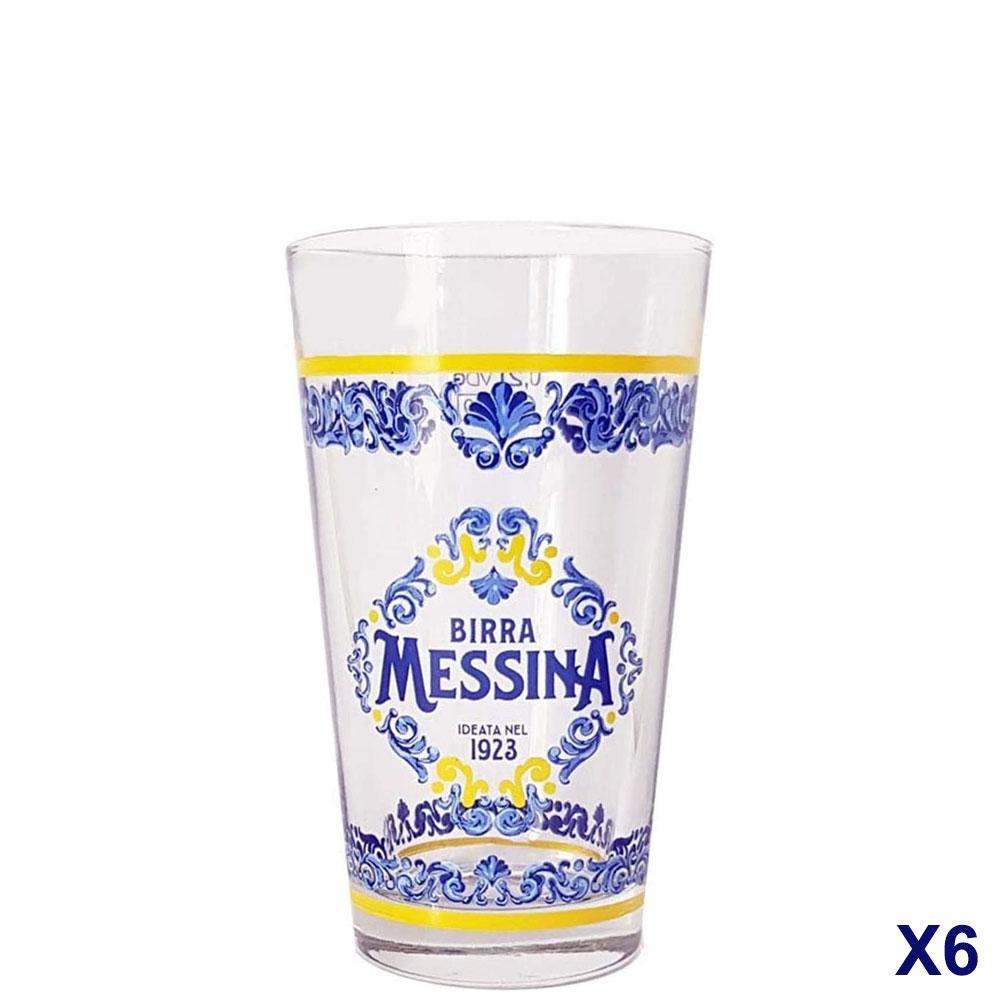 Bicchiere Messina cristalli di sale 20cl
