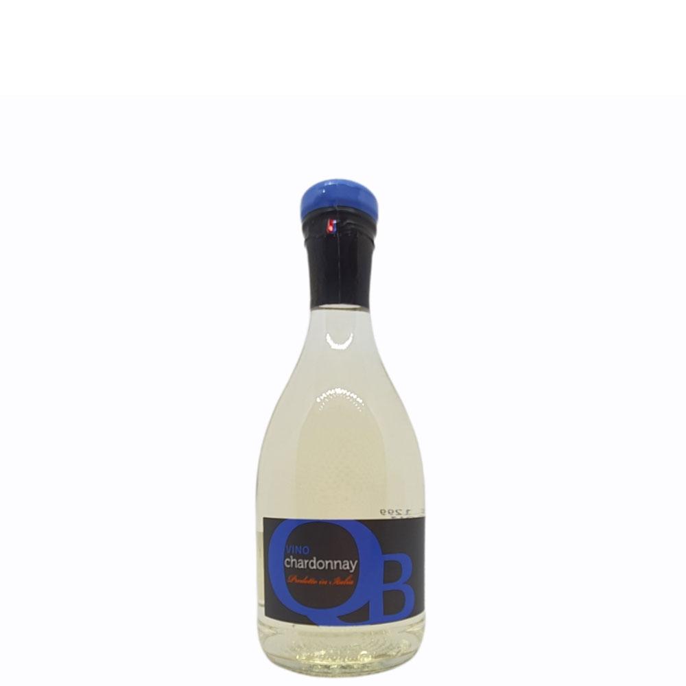 Vino QB Chardonnay Veneto Bianco cl 25