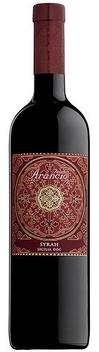 Vino Feudo Arancio Syrah R.so DOC cl 75
