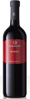 Vino Cusumano Syrah cl 75 XVII IGT