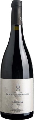 Vino C. di Campobello Adenzia Rosso Nero d'Avola e Syrah DOC cl 75 XV