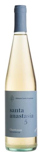 Vino S. Anastasia 5 Chardonnay IGP BIO cl 75 XVIII