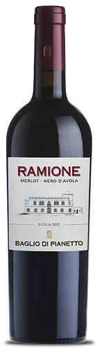 Vino Baglio di pianetto Merlot/avola Ramione cl 75