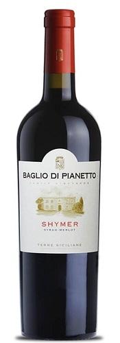 Vino Baglio di pianetto syrah/merlot Shymer cl 75 XVI