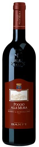 Vino Banfi Rosso di Montalcino cl 75 Poggio alle Mura Castello 2016 DOC