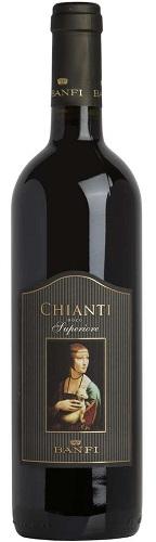 Vino Banfi rosso Chianti superiore cl 75 DOCG