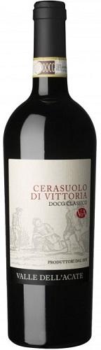 Vino Valle Acate Cerasuolo di Vittoria cl 75 Rosso DOCG XVII