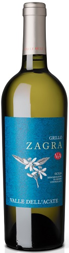 Vino Valle Acate Zagra Grillo cl 75 Bianco DOC XVIII