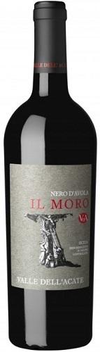 Vino Valle Acate Il Moro Nero Avola cl75 Rosso DOC XIV